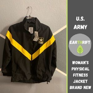👩‍✈️U.S. Army Physical Fitness Jacket👩‍✈️